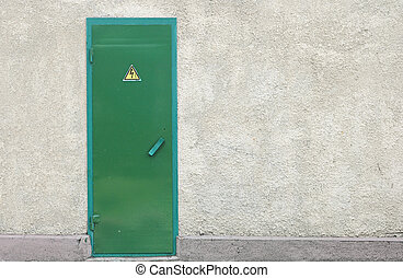 grunge gray wall and barred door  sc 1 st  Can Stock Photo & Brick wall \u0026 barred door stock images - Search Stock Photos ...