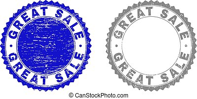 Grunge GREAT SALE Textured Stamp Seals