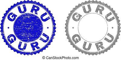 Grunge GURU Textured Watermarks - Grunge GURU stamp seals...