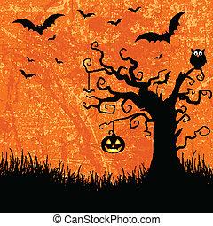 grunge halloween background 2508