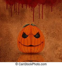 grunge, halloween, bakgrund