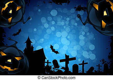 grunge,  Halloween, fondo, festa