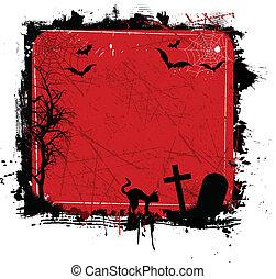 Grunge halloween