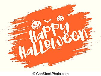 grunge halloween typography background 1209
