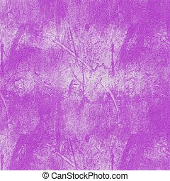 Grunge hand painted purple abstract textured background