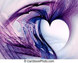 Grunge Heart - Grunge heart. Useful for love messages,...