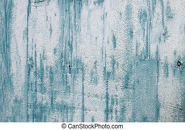 grunge, hellblau, gemalt, hölzern, textured, hintergrund.