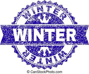 grunge, hiver, timbre, textured, cachet, ruban