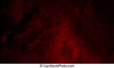 grunge, horreur, texture, faire boucle, arrière-plan noir, animé, rouges