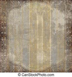 grunge, houten, ouderwetse , kras, achtergrond, ., abstract, achtergrond, voor, illustratie