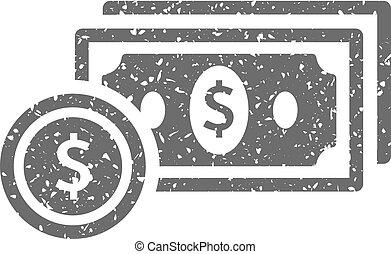 Grunge icon - Money