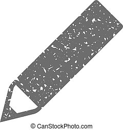 Grunge icon - Pencil