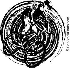 cyclist,