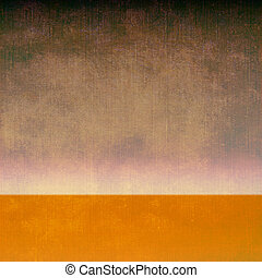 Grunge image of landscape