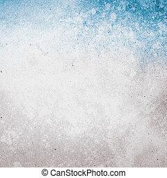 grunge, image., przestrzeń, tekst, papier, tło, textured, albo, d