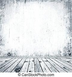 grunge, interior