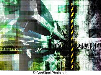 Grunge Internet Background