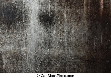 grunge iron plate - Industrial metal background