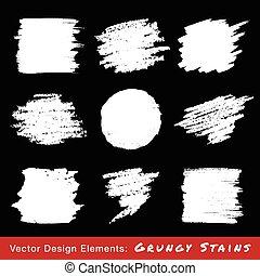 grunge, jogo, backgrounds., mão, desenhado, branca