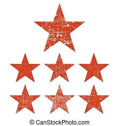 grunge, jogo, estrela
