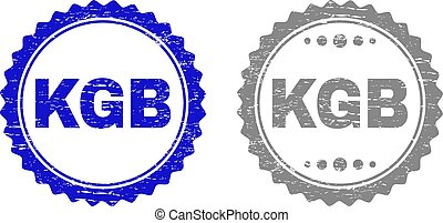 Grunge KGB Textured Watermarks