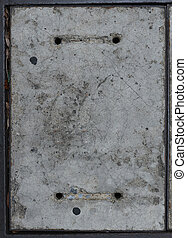 grunge, konkret, cement, grov, vägg, detaljerad, struktur,...