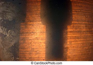 Grunge lantern abstract