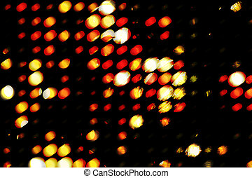 Grunge light - Grungy circles of saturated light (digitally ...