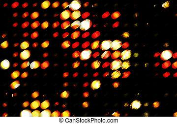 Grunge light - Grungy circles of saturated light (digitally...