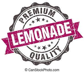 grunge, limonade, vrijstaand, viooltje, witte , zeehondje