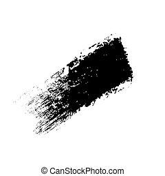 Grunge line, vector illustration