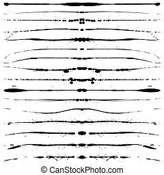 Grunge lines