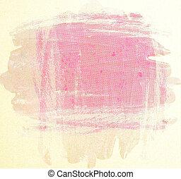 grunge, lyserød, bar bund, baggrund