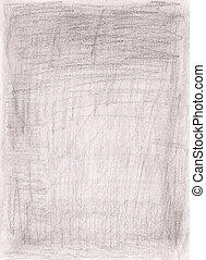 grunge, mão, desenhado, fundo, textured, papel