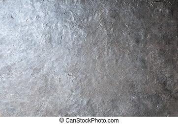 grunge, métal, punk, texture, vapeur, forgé, fond, ou