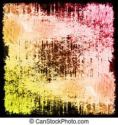 grunge, mönster, abstrakt, bakgrund, text, din