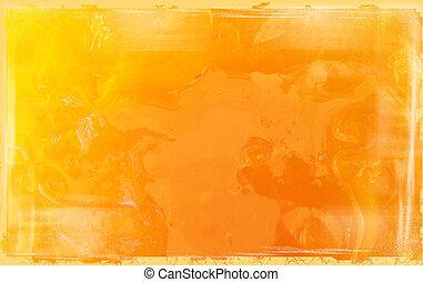 grunge marmalade - grunged macro photo of marmalade
