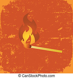 Grunge Match Poster