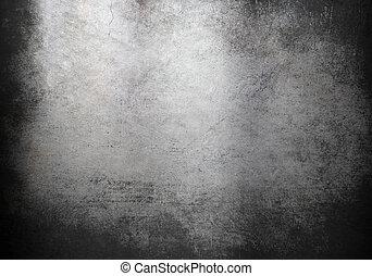 grunge, metaal, achtergrond, of, textuur