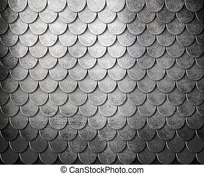 grunge metal scales background