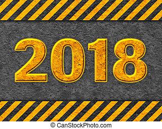 grunge, modello, nero, 2018, testo, arancia