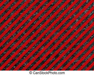 grunge, modello, superficie, avvertimento, nero rosso