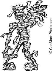 grunge mummy