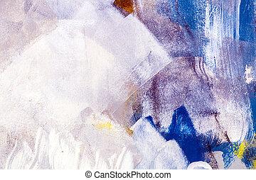 grunge, mur peint, texture
