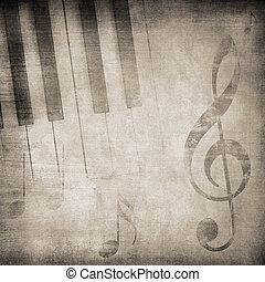 grunge music - grunge music background with space for text...