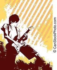 Grunge Musician