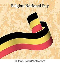 grunge, nacional, -, colores, textura, day., bandera, plano de fondo, rayas, belgium., cinta, belga