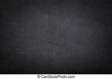 grunge, noir, mousse, planche, texture