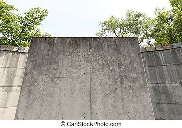 grunge of concrete walls, texture background