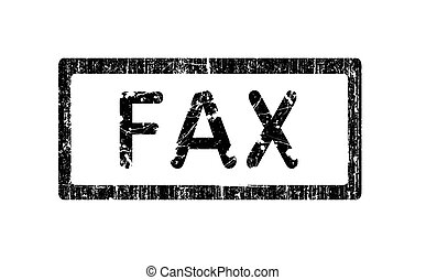 Grunge Office Stamp - FAX - Grunge Office Stamp with the ...